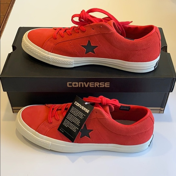 Converse Other - Converse One Star Ox Siren Red M 10 W 12